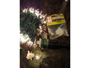 Plug to waterproof Christmas lights and multi-prong extension cords