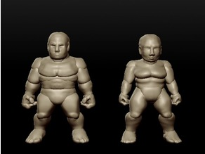 Sculptris Dummies: Dwarves