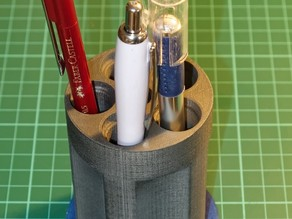 Revolver Barrel Pencil Stand
