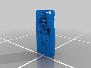 IPHONE 6 PLUS case Sculpture