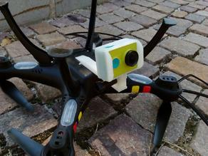 Syma X8C - Mount for GoPro or Xiaomi Yi