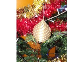 bright christmas ball / boule de noel lumineuse