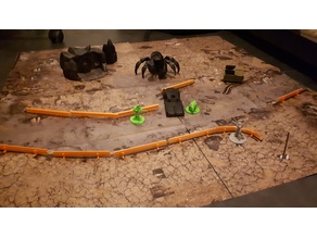 guardrails for 28mm tabletop