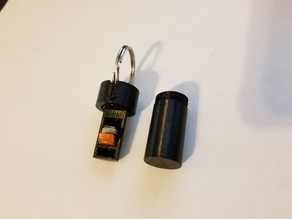 Hearing Aid Battery Holder - Keychain