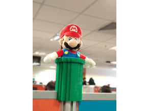 Mario Pipe 4 cubicle