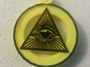 All Seeing Eye (Necklace)