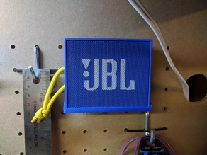 JBL Go Bluetooth Speaker Pegboard Mount Shelf