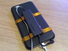 iPhone 6 Plus Bose QC20i Battery Clip