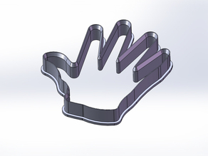 Hand Cookie Cutter - High Quality Design
