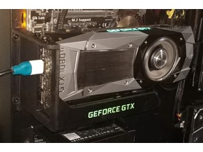 Thermaltake Core P5 Video Card Mount