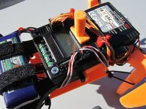 Micro H-Quad w adjustable angle Anti-jello Mobius camera mount (for small printers)