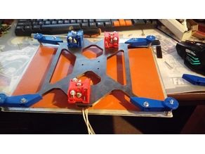Increase the bed prusa i3 6mm 20x30
