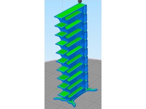Flux3D Temperature Tower Test (fixed)