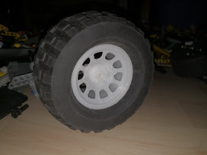 Lego Pro Comp Rim for Power Puller tires