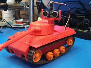 Logitank, made for Logitraxx Vehicle Chassis Kit