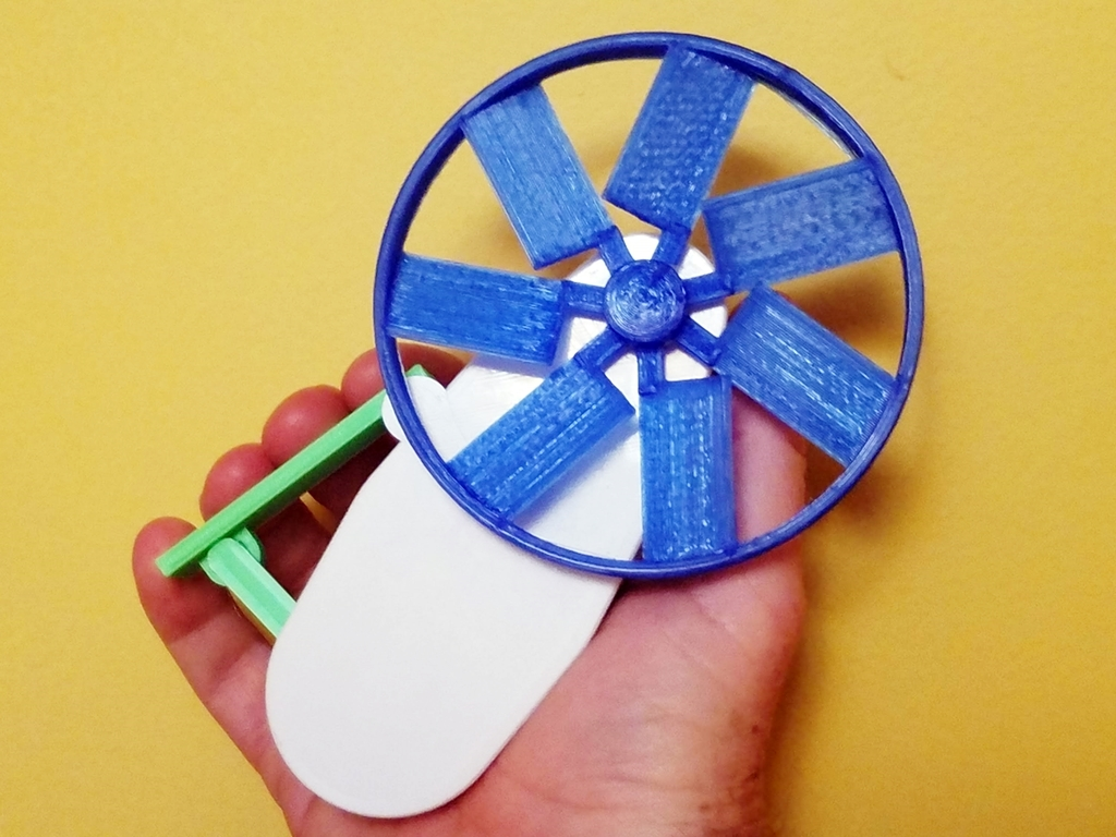 Cool Squeeze - Grip Fan by Zippitybamba - Thingiverse