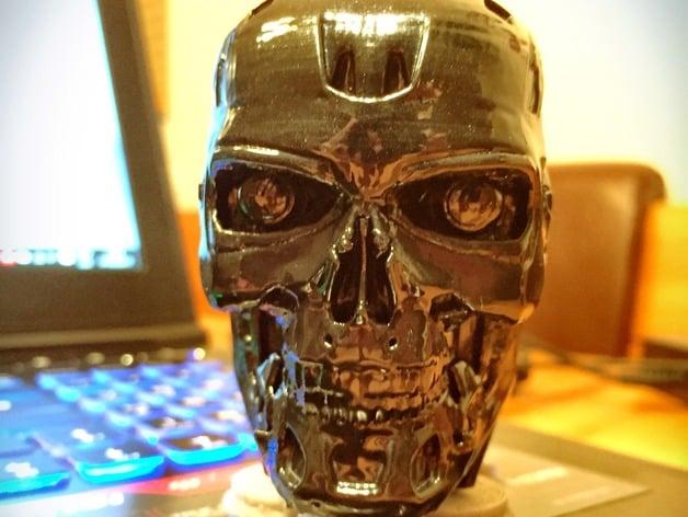 T 800 Terminator Exoskull By Rev