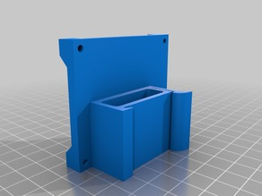 Pi0 and Pi3 B+ Din Mounts - No Supports Needed