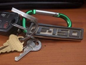 Rusty F-150 Keychain