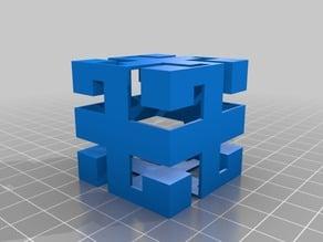 Geometric Cutout Box