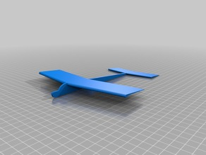 Top Wing Glider with Light Airfoil Wings