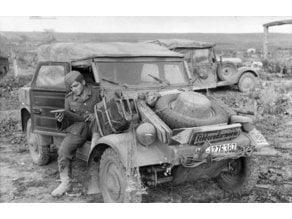 Kubelwagen in 1/56ème for 28mm