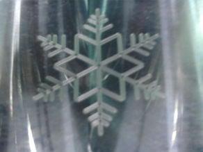 Fractal snowflake CNC program