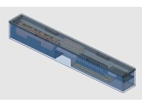 MySensors Slim LiFePO4 AA Magnetic Sensor Node Case