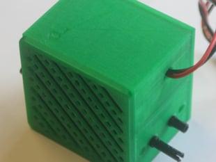 """badBrick - Speaker Case for Vifa TC6FD00-04 2"""" Woofer"""