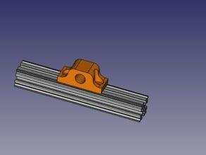 Openbeam: Pillow block for 8mm shaft
