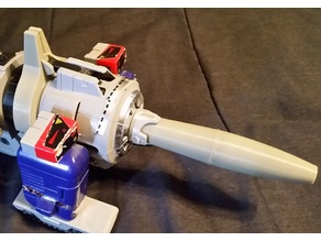 Transformers G1 Galvatron Cannon and Y Sight