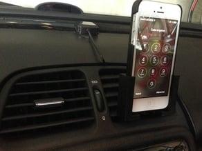 Simple passive iPhone car craddle