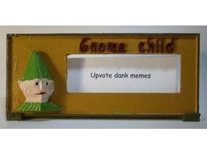 Gnome Child text box