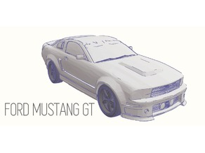 Ford Mustang GT - Model 1:64