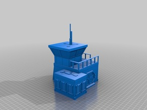 Outpost 6: Building for 28mm Gaming