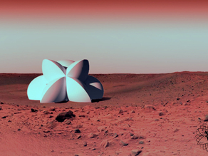 Martian flower of Life #MakerBotMars