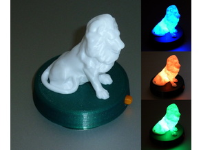 Illuminated Lion