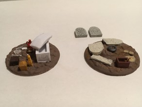 Tabletop Egyptian Drop Terrain