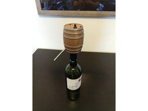 Barrel Wine Dispenser