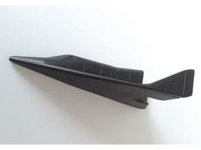 X-20 Dyna-Soar 1/96 scale