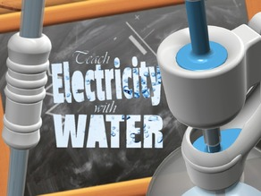 Teach electricity with hydraulic