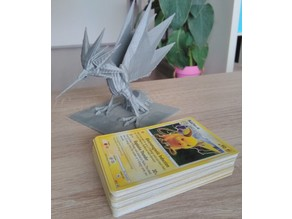 Pokemon card deck holder zapdos