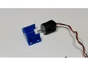 Small DC motor holder / bracket for HyperDuino kit