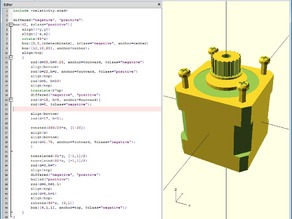 The Openscad General Library of Relativity