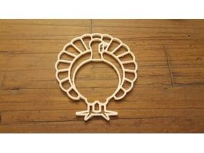 Turkey Shaped Napkin Ring