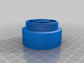 Pill Container (4 Sections) Screw Top