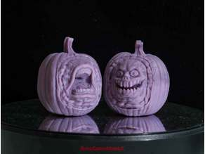 Creepy Pumpkin Heads - Set A