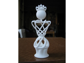 King of my Abstract Chess Set design