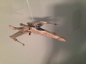 Printable (pretty much all the way now) repaired x-wing