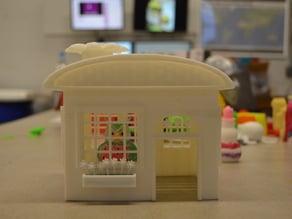 Flower House Model